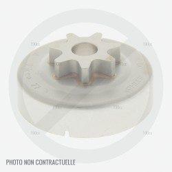 Cloche embrayage débroussailleuse Stihl FS 75, 80 et FS 85