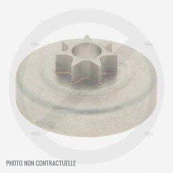 Pignon de chaine pour tronçonneuse Sandrigarden SG TRE 1800 40, TR 9180 35 TC