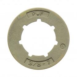 Pignon de chaine pour tronçonneuse Alpina A4500 (pignon 3/8)