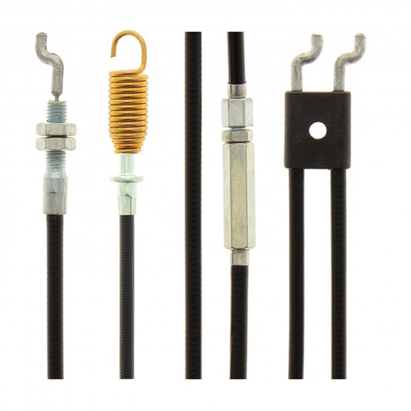 cable frein moteur et traction pour tondeuse greatland to 675eb 56 al sp 190cc. Black Bedroom Furniture Sets. Home Design Ideas