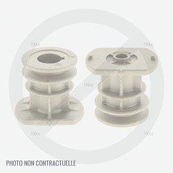 Support de lame tondeuse Leclerc Beaux Jours CL TO 190H 53 AC SP 4IN1