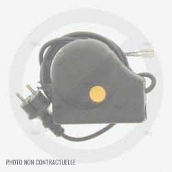 Prise pour tondeuse a gazon Id Tech IDT CLMB3638G, CLMB3640G et Verciel GI 38 Li