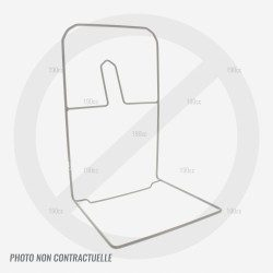 Cadre de sac de ramassage pour tondeuse Verciel GI 46 ESM TR 2000w