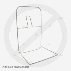 Armature de bac de ramassage pour tondeuse Verciel GI 42E 1800w