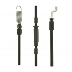 Cable de traction pour tondeuse GGP 46, 48 et 53 cm. Guidon ergonomique