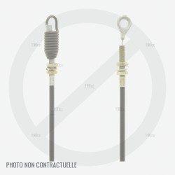 Cable embrayage lame tondeuse Sentar SMAH 53TGR, GGP NP534 TR, NP534 WTR