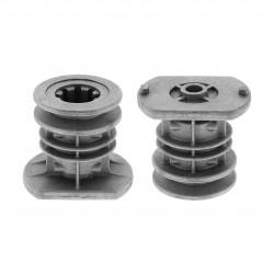 Support de lame 22 mm pour tondeuse GGP 434 / 484 / 504 / 534 / 554