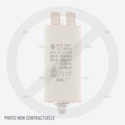 Condensateur tondeuse GGP T430 S et T480 moteur 1800 W