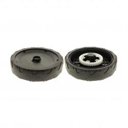Roue 240 mm pour tondeuse tractée de fabrication GGP à roulements