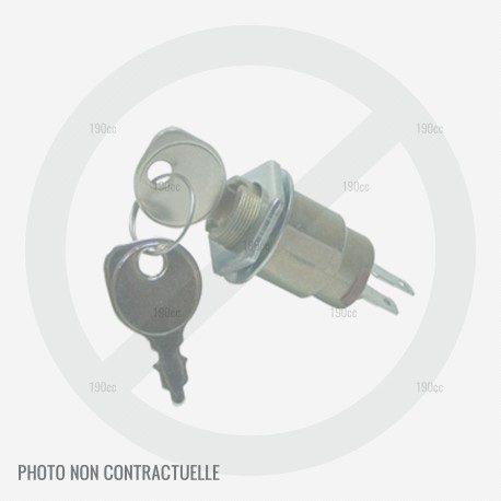 Interrupteur contacteur démarrage complet tondeuse Mc Culloch M53-190 AWFEPX
