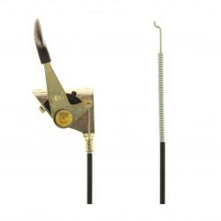 Cable accelerateur tondeuse autoportée Gardol et Lazer
