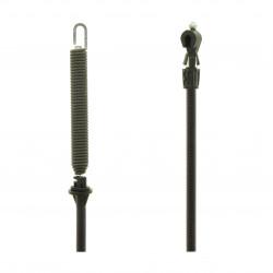 Cable embrayage de lame pour tondeuse autoportée 107 cm
