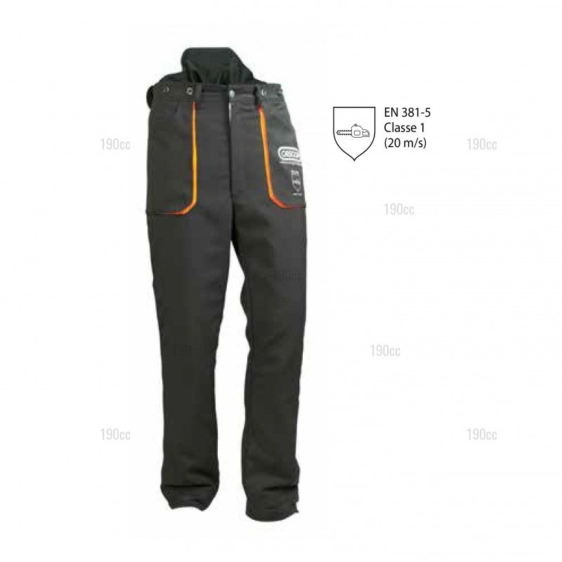 Pantalon s curit bucheron oregon yukon 190cc - Pantalon de bucheron ...