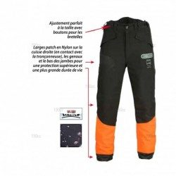 Pantalon bucheron anti coupure Oregon Waipoua