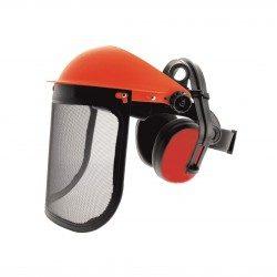 Protection débroussailleuse visiere et anti bruit