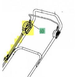 Boitier interrupteur pour tondeuse MTD Optima 38 E