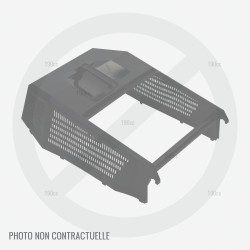Couvercle bac tondeuse Alko Comfort 470 B, Silver 470 E, Comfort 46E