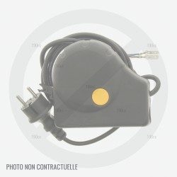 Commutateur prise pour tondeuse electrique Alko