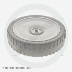 Roue tondeuse a batterie Alko Comfort 34 Li Akku (roue avant)