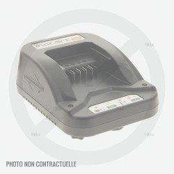 Chargeur de batterie pour Lawnmaster 24V - 1,3 Ah