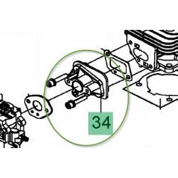 Entretoise de carburateur débroussailleuse Mastercut 2033 B