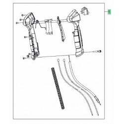 Kit reparation carburateur débroussailleuse Mc Culloch B428 PS