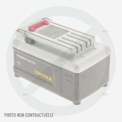Batterie pour tronçonneuse Mc Culloch Batterie 40V 2900817
