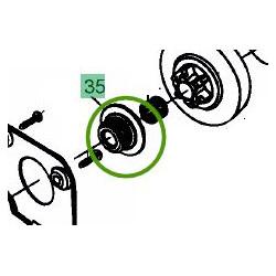 Vis sans fin pompe huile MTD GCS 2500 / GCS 3800 / GCS 4100