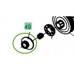 Vis sans fin pour pompe à huile de tronçonneuse MTD GCS 4600/45