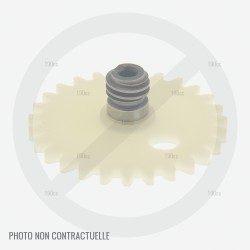 Vis sans fin pompe huile tronçonneuse Stihl MS 201 TC-M / MS 201 C-M
