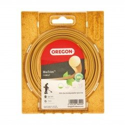 Fil debroussailleuse biodegradable Oregon Bio-Trim