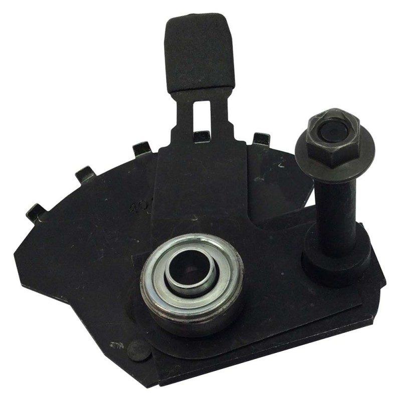 support de roue avant gauche mc culloch m53 190afpx m53. Black Bedroom Furniture Sets. Home Design Ideas