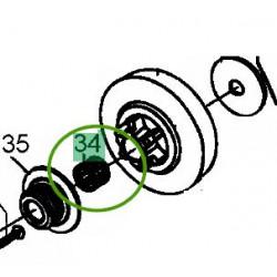 Cage à aiguilles pour pignon tronçonneuse MTD GCS 2500/25 T