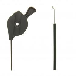 Cable accelerateur Alko Classic 52 / 520 / 5200, Silver 510, Silver 520