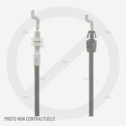 Cable embrayage et frein pour Jonsered LM 2155 MD