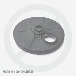 Flasque de roue avant pour tondeuse fabrication DAYE DYM 1564