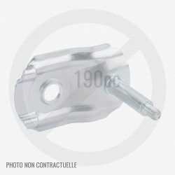Support de roue avant droit pour GGP ES 460 et 44E16