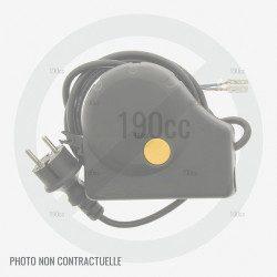 Poignée pour contacteur de tondeuse à gazon electrique