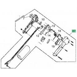 Poignée accélérateur pour débroussailleuse MTD 1033, 1043 et 1045 K