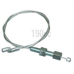 Cable relevage coupe pour MT 540, MT 545, MT 580, MT 585