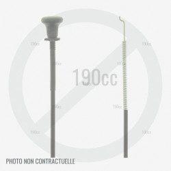 """Cable starter pour autoportée Cub Cadet LX 42"""" KH, XT 2 QR 106"""