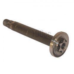Axe de palier de lame pour rider MTD largeur 76 cm