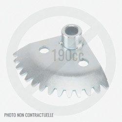 Secteur cranté direction pour GGP TS / TU / TX / TY 108 et 118 cm