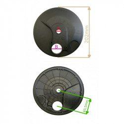 Cache poussière roue arrière de tondeuse à gazon fabrication GGP