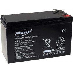 Batterie 12V 9Ah pour autoportée et tracteur tondeuse