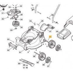Axe de roue arrière GGP 118810067/0