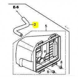 Durite reniflard Honda 15721-Z9L-800