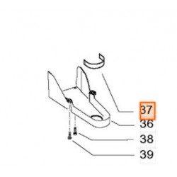 Guide courroie Mc Culloch 501189002