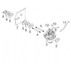 Carburateur Mc Culloch RV175