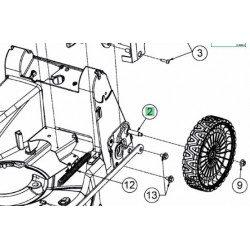 Axe de roue arrière pour tondeuse Cub Cadet largeur 46 cm